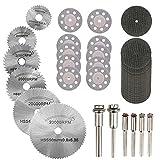 Hamineler 36PCS Rotary Cutting Wheels Tool