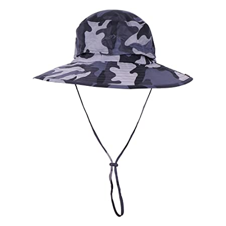 6a4179e4a2e JITTY Camouflage Military Boonie Hat Wide Brim Summer Sun Hat Hunting Hat  Bucket Hat for Men ...