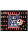 : Magnetic Poetry Letter Stamp Kits 1 1/8 in. 70 stamps typewriter