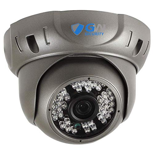 GW Security 5 Megapixel 2592 x 1920 Pixel Super HD 1920P H.265 Hi-Resolution Network PoE Wide Angle View Security Dome IP Camera