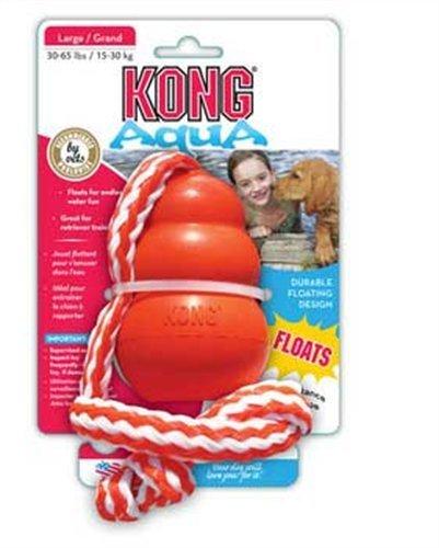KONG Aqua Dog Toy, Medium, Orange, My Pet Supplies