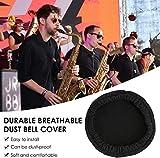 "2 Pcs Instrument Bell Cover 5""for Trumpet Alto"