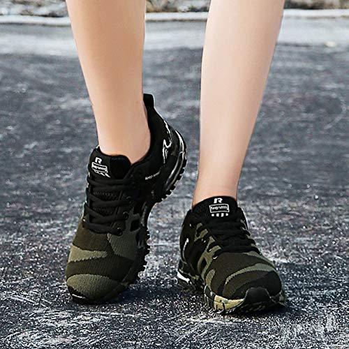 Running Air Casual Bazhahei Athltique De Sport 5 Walk 6 12 Gym Taille Chaussures Arme Vert Sports Jogging Entraneurs Baskets Fitness Hommes Course qIwIxrZ
