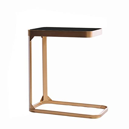 the best attitude 14f70 74e99 Amazon.com: C-Shaped Side Table/Wrought Iron End Table ...