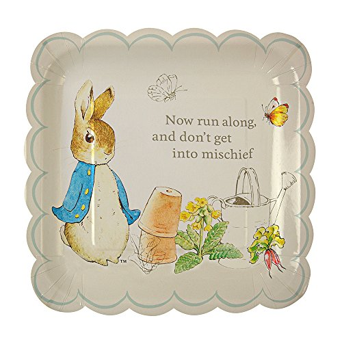 Meri Meri Peter Rabbit Scallop Edge Plates Large