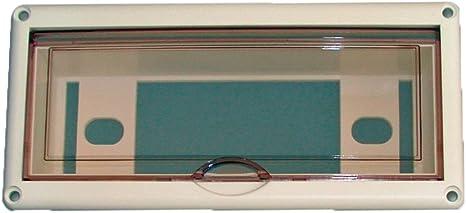 Caja estanca para radio Osculati resistente al agua conforme a la norma DIN - 225 x 105 mm: Amazon.es: Deportes y aire libre