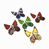 Gold Happy 5pcs Magic Toys Hand Transformation Fly Butterfly magic tricks Novelty Surprise Prank Joke Mystical Fun Classic Toys gadgets Gag