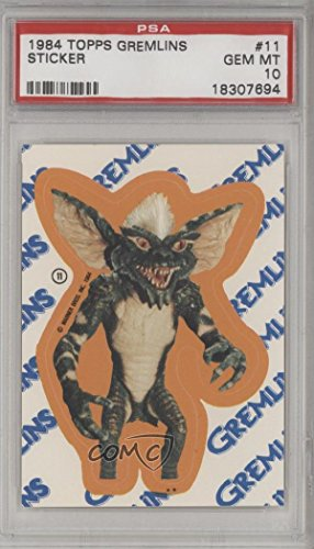 Stripe PSA GRADED 10 (Trading Card) 1984 Topps Gremlins - Stickers ()