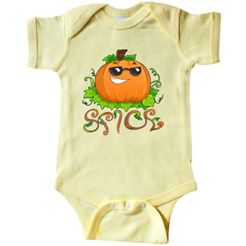 161 Sunglasses (inktastic Pumpkin Spice with Sunglasses Infant Creeper 18 Months Banana Yellow)