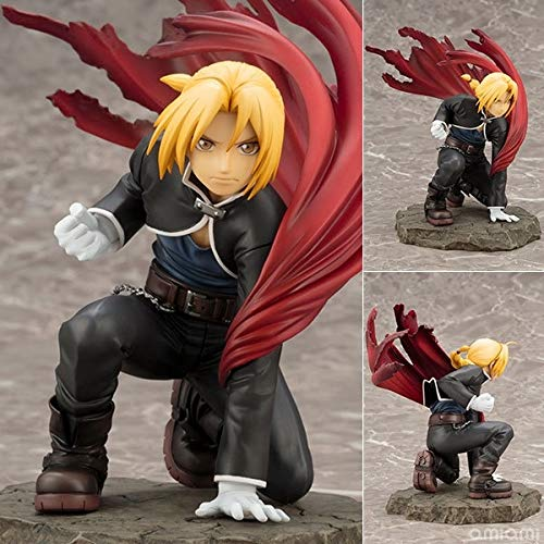 - Charm Forest NEW Hot 22cm Fullmetal Alchemist Edward Elric Action Figure Toys Collection Doll Christmas Gift No Box