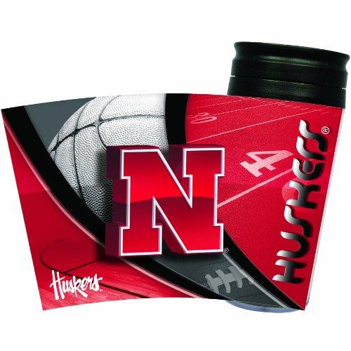 NCAA Nebraska Cornhuskers Insulated Travel Tumbler ()