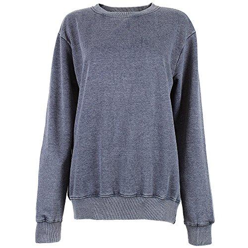 Hoi Polloi Herren Sweatshirt blau blau