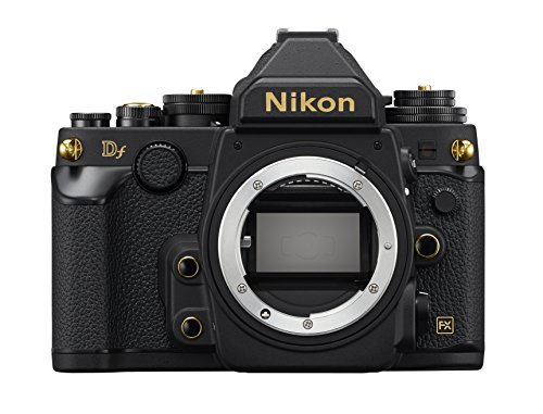 Nikon Df 16.2 Mp Cmos Fx-format Digital SLR Camera Special Gold Edition 1,000 Limited Body Only