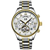 KINYUED 2017 Tourbillon Automatic Men Stainless steel Watches
