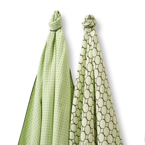 SwaddleDesigns SwaddleDuo Swaddling Blankets Premium