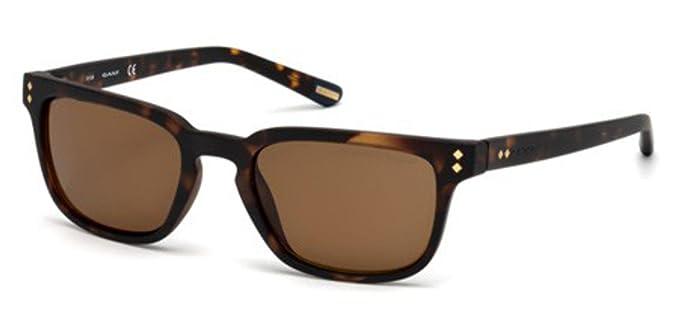 aebc5c7bc1 Sunglasses Gant GA 7080 52H dark havana   brown polarized at Amazon ...