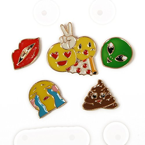 Price comparison product image Custom European and American fashion sweet and cute cartoon badge accessories with jewelry brooch collar pin corsage brooch female aliens