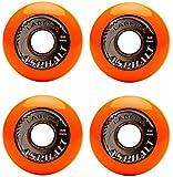 Labeda Gripper Asphalt Hard Inline Hockey Skate Wheels - 4 Pack