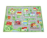 Baby Boys Early Education City Map Floor Mat Review