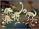 : Age of Dinosaur Glow in the Dark 100 Piece Puzzle