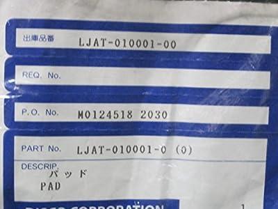 Disco Ljat-010001-0 Pad, Ljat-010001-0