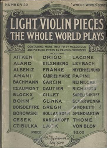 Light Violin Pieces the Whole World Plays (Whole World, 20