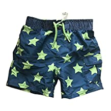 Newborn Infant Baby Boys Swim Trunks Star Striped Swim Bottom