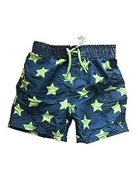 Newborn Infant Baby Boys Swim Trunks Star Striped Swim Bottom