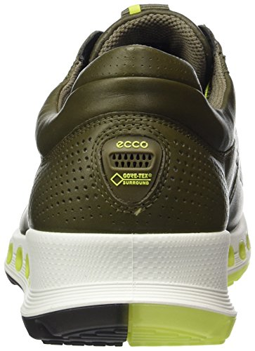 Ecco Mens Cool 2.0 In Pelle Gore-tex Fashion Sneaker In Pelle Di Catrame