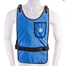 Self Charging Grey Cooling Vest with Inserts