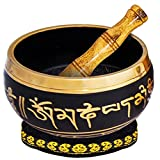 Zen Factory - Premium Packaged Tibetan Meditation Singing Bowl 4,5