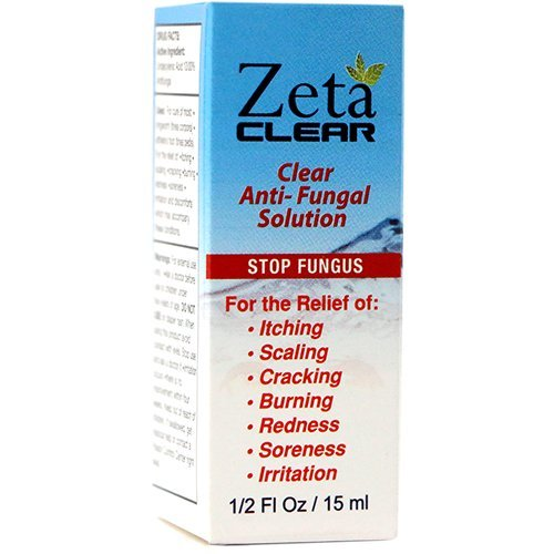 ZetaClear Nail Fungus Topical Treatment Solution - Remove Toenail Fungus, Nail Fungus Relief & Easy to Use, Promote Healthy Clear Appearing Nails - 3 Pack (3 Month Supply) by Zetaclear Nail Fungus Treatment-3  Kits