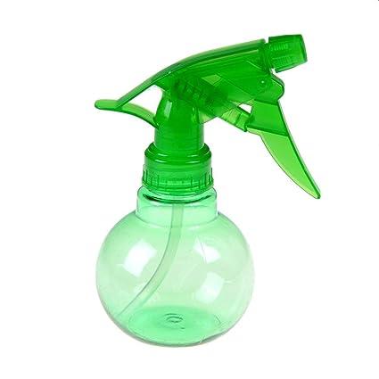 Botella de agua en forma esférica de plástico para decoración de pelo, salón de belleza
