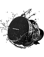 ILUMINPRO Portable Bluetooth Speaker for Bike, IPX7 Waterproof,Shockproof for Outdoor Riding, Bluetooth 5.0 HD Sound with Aux, 10H Playtime Detachable Bike Mount,Built-in Mic and TF Card Support