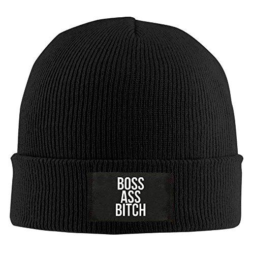 Beanie Bitch Navy béisbol Gorras Winter rongxincailiaoke Boss Cap Womens Funny Ass Hat Skull B8wAq