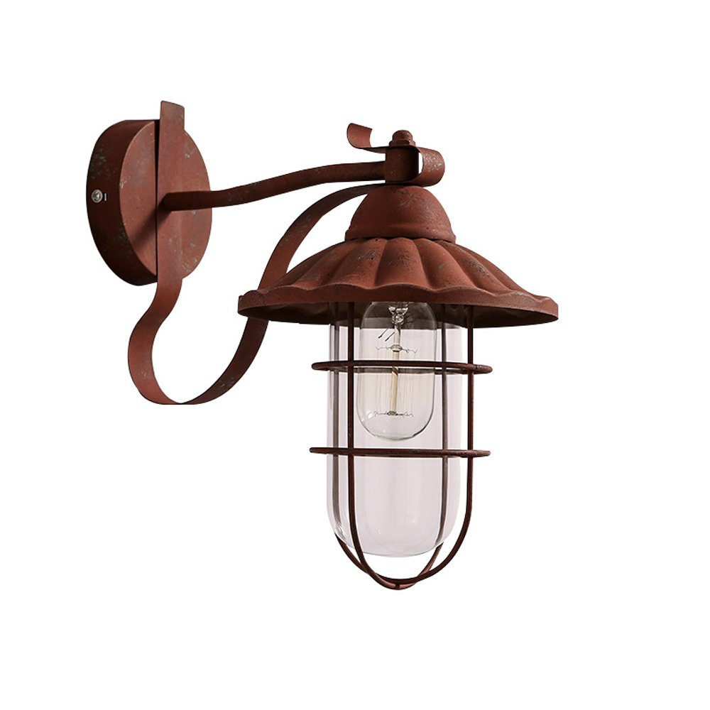American retro wall lamps loft industrial style clothing store aisle wall lighting to do the old iron doors light ZA825648 lo11