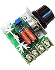 uniquegoods AC 50-220V 2000W(max) 25A SCR Constant Voltage AC Motor Speed Controller LED Dimmers