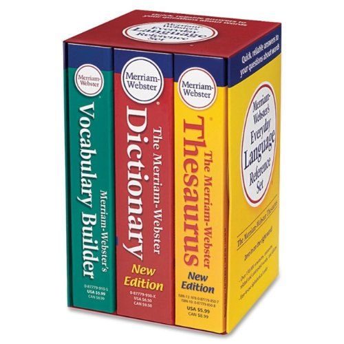 Merriam-Webster Language Reference Set (MER8750)