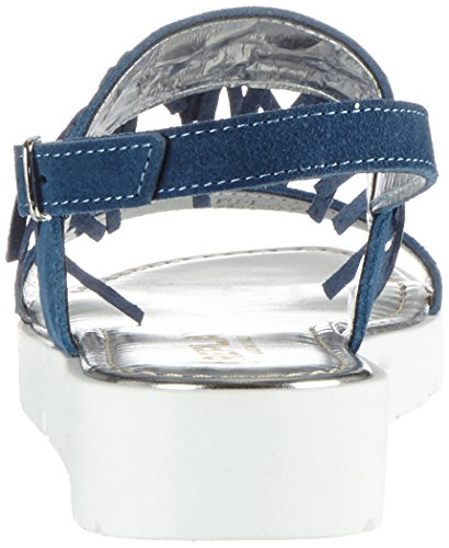 Replay Mädchen Cesar Plateausandalen Blau (Blue 10)