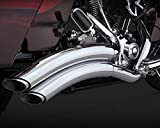 07-16 HARLEY FLHX2: Vance & Hines Super Radius Exhaust (Chrome)