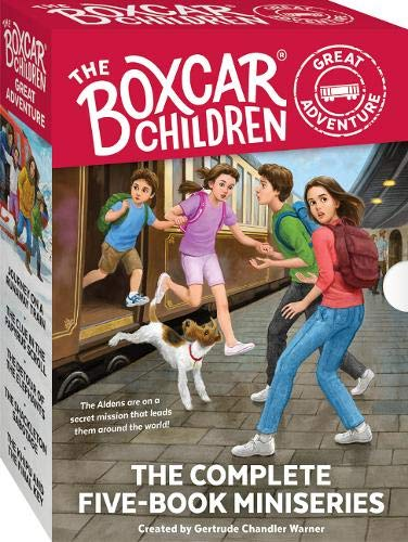 The Boxcar Children Great Adventure 5-Book ()