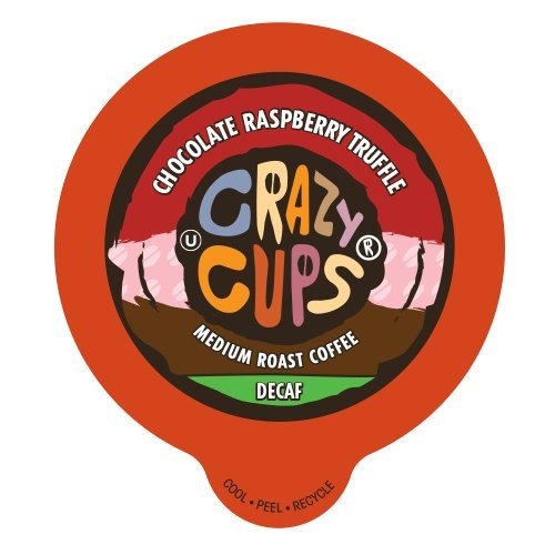 Crazy Cups Decaf Chocolate Raspberry Truffle Flavored Coffee