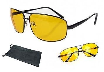 MK3 GAFAS DE CONDUCCIÓN NOCTURNA ANTI REFLEJANTE GAFAS COMPUTACIONALES Adecuado para una mejor visión nocturna. Anti reflejante HD Vision Gafas de sol: ...