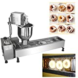 mini donut fryer machine - Commercial Manual Breakwater Donut Fryer Maker Making Machine + 3 Models 220v