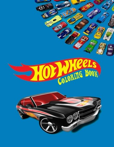 Hot Wheels Coloring Book: Coloring Book for Kids and Adults with Fun, Easy, and Relaxing Coloring Pages (Coloring Books for Adults and Kids 2-4 4-8 8-12+) -
