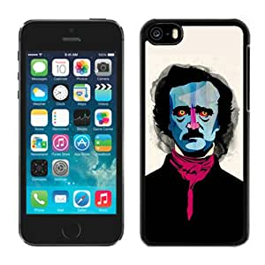 Edgar Allan Poe Black Best Sale Fantastic iPhone 5C Cover Case