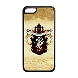 Custom iPhone 6 4.7'' Case,Game of Thrones Design Fashion Pattern Hard Back Cover Snap on Case for iPhone 6 4.7'' (Black/white)