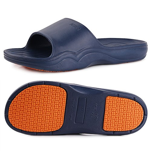 Sandal Shower Bath Shoes Slippers Premium Anti Unisex Bedroom Swim Casual 01navy EQUICK Floor Beach Slip Dorms for Slipper 1HqzWnx