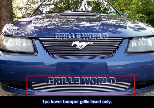 APS Fits 1999-2004 Ford Mustang V6/ V8 GT Lower Bumper Billet Grille #N19-A01068F