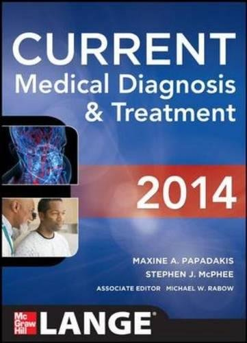 Current Medical Diagnosis And Treat (LANGE CURRENT Series)